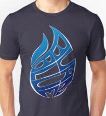 Blue Flames Unisex T-Shirt