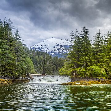 Sitka Falls by BigRedCurlyGuy