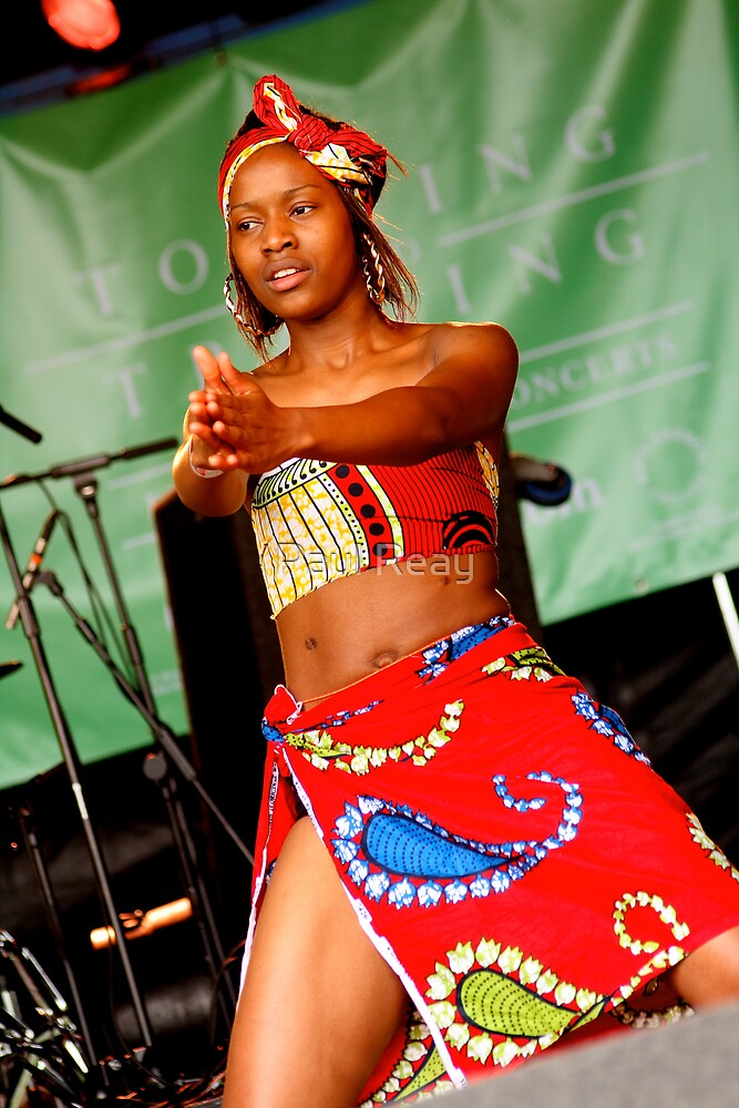 African dancer by Paul Reay