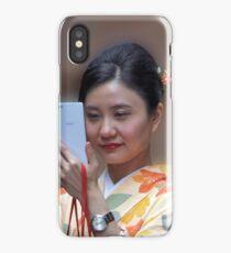 Geisha Selfie iPhone Case/Skin