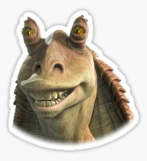 Jar Jar Binks Sticker
