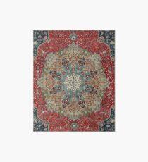Vintage Antique Persian Carpet Art Board
