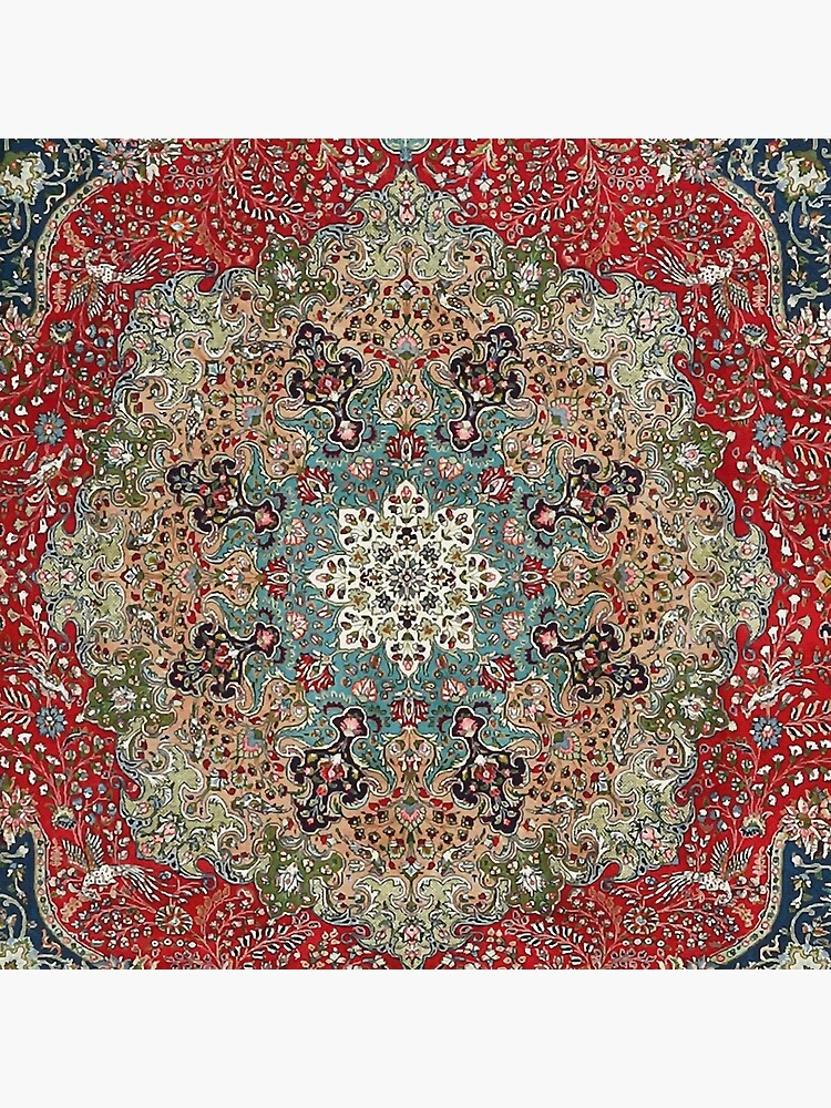 Vintage Antique Persian Carpet by bragova