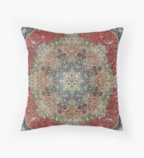 Vintage Antique Persian Carpet Floor Pillow