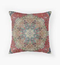 Vintage Antique Persian Carpet Floor Pillow