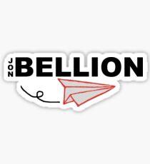 Jon Bellion Paper Plane Sticker
