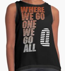 Where We Go One We Go All - Tigerstripes - QAnon Contrast Tank