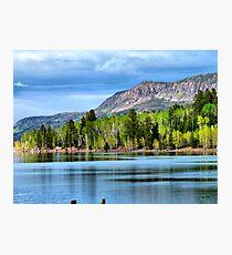 Yankee Lake 4 Photographic Print