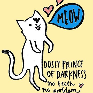 Dusty Prince of Darkness by rosesherman