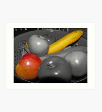 Bowel of Fruit Art Print