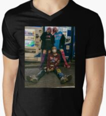 Jaden Smith Ghost  Men's V-Neck T-Shirt