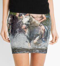 Gypsies at Appleby Horse Fair Mini Skirt