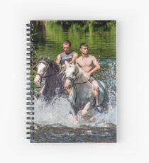 Gypsies at Appleby Horse Fair Spiral Notebook