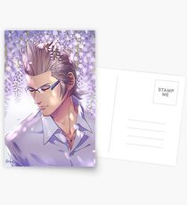 Ignis with wisteria Postcards