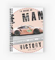 24H 2018 - GTE Pro Spiral Notebook