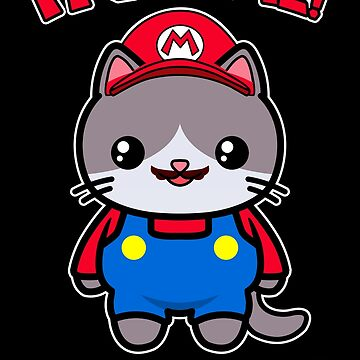 Cat Cute Kawaii Funny Mario Parody by awesomekawaii