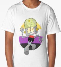 Robot Jones - Nonbinary Pride Long T-Shirt