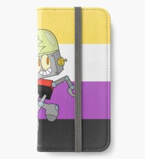 Robot Jones - Nonbinary Pride iPhone Wallet/Case/Skin