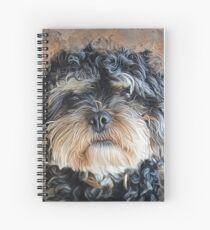 Ted The Cockapoo Spiral Notebook