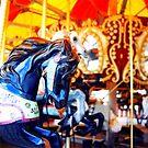 Coney Island Carousel by Christine Elise McCarthy