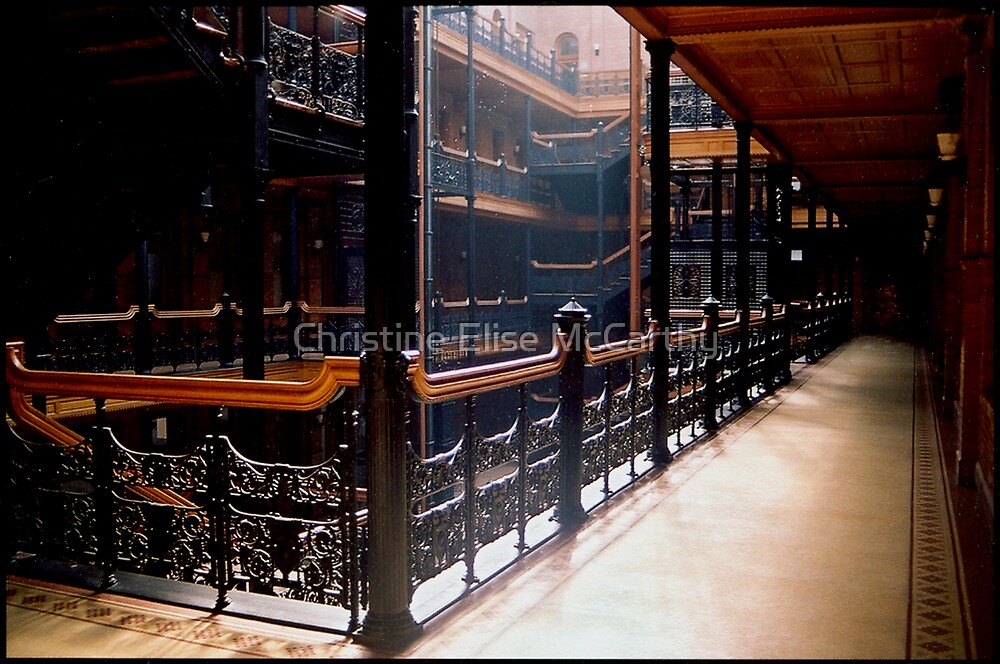 Bradbury Building by Christine Elise McCarthy