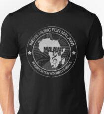MFM Round Retro Monochrome Black Unisex T-Shirt