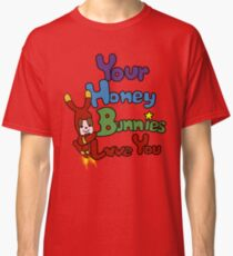 RDJ's Your Honey Bunnies Love You Shirt Classic T-Shirt