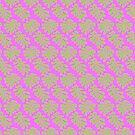 Große Blätter - ineinandergreifendes Muster von bunbun369