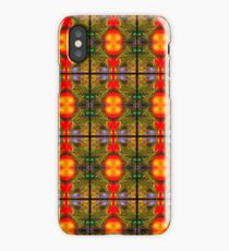 Red and Green Christmas Pattern iPhone Case