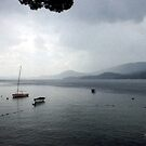 Storm Over Newfound Lake by Wayne King