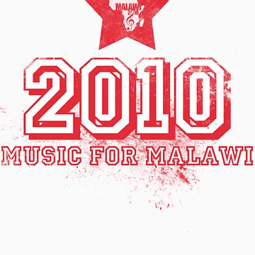 Old School Retro 2010 Red by MusicForMalawi