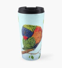 Shy Boy - Rainbow Lorikeet Travel Mug
