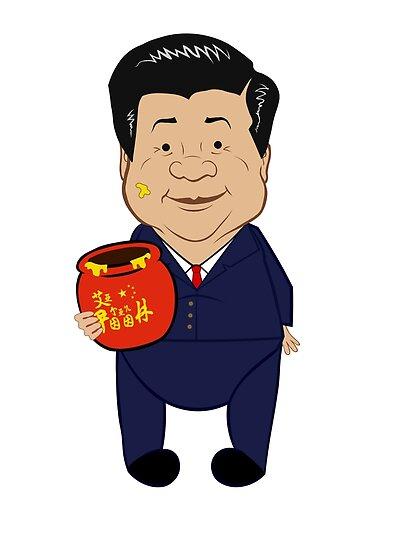 «Xi Jinpooh Winnie the Pooh prohibido en China (John Oliver)» de PissAndVinegar