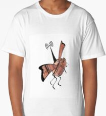 Radio controlled, robot fly, mini drone, Ornithopter Long T-Shirt