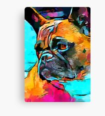 French Bulldog 2 Canvas Print
