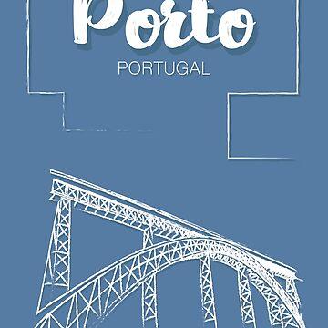 Porto / Oporto and the D. Luís Bridge by geep44