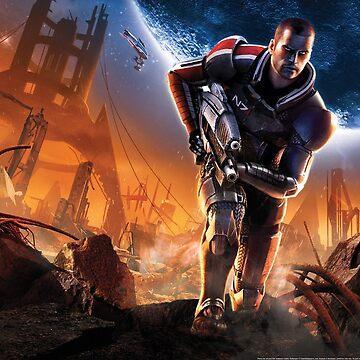 Mass Effect Shepard by dylan5981