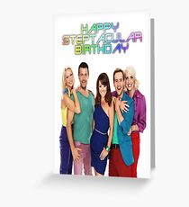 Steps Birthday Card - Group Greeting Card