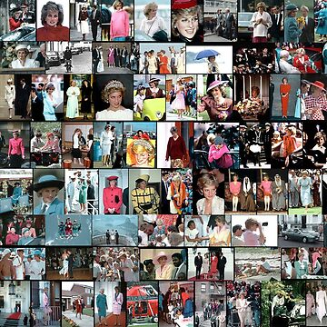 Stunning! HRH Princess Diana Photo Montage Collectors Edition No 1 by Picturestation