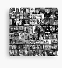 Stunning! HRH Princess of Wales Pro Photo Montage Collectors Edition No 1 BW Canvas Print
