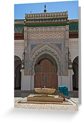 Al-Karaouine University and Mosque at Fes by Konstantinos Arvanitopoulos