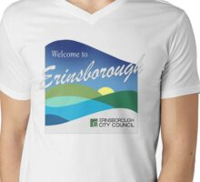 Welcome To Erinsborough Mens V-Neck T-Shirt