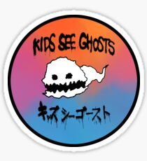 Kids See Ghosts Sometimes Sticker