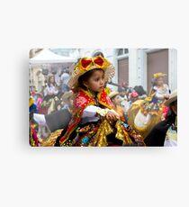 Cuenca Kids 630 - Painting Canvas Print