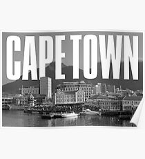 Cape Town Cityscape Poster