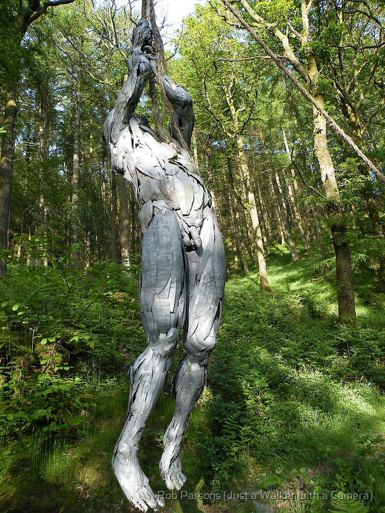 The Lake District:  Grizedale Forest Sculptures Series - Mea Culpa Part 2 by Rob Parsons