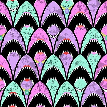 Girly sharks scallops by B0red