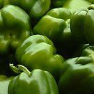Green Peppers by ianturton