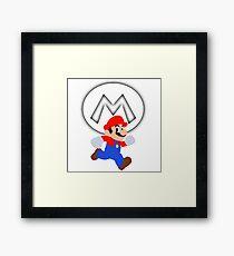 Super Mario Run Framed Print