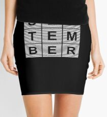Born In September - Birthday Shirt Mini Skirt